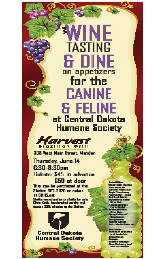 Central Humane Society tasting & dine for the canine & feline
