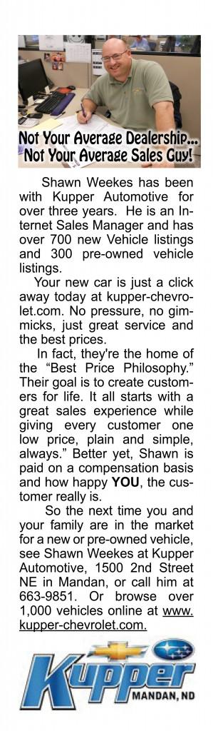 Shawn Weekes Kupper Automotive