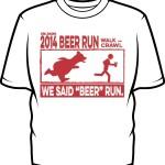 2014 Beer Run tshirt